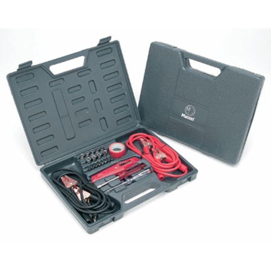 Ruff Ready 22-piece Highway Emergency Tool Kit