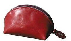 Tan Veg Tanned Calf Leather Coin Purse