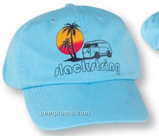 The Crestline Washed Chino Twill Cap (Embroidery)