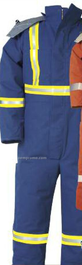 10 Oz. Ultra Soft Epic Winter Coverall W/ #9187 Reflective Tape (S-xl)