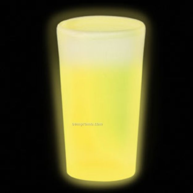 16 Oz. Yellow Glow Cup