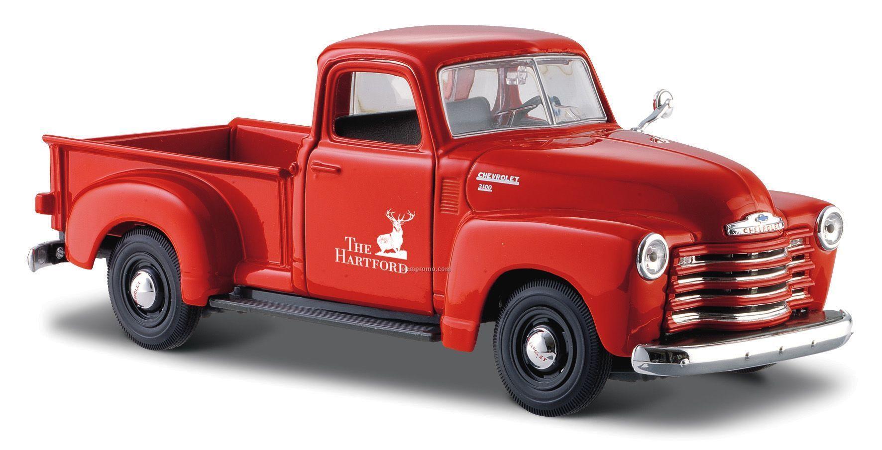 "7""X 2-1/2""X3"" 1950 Chevrolet 3100 Pickup Die Cast Replica"
