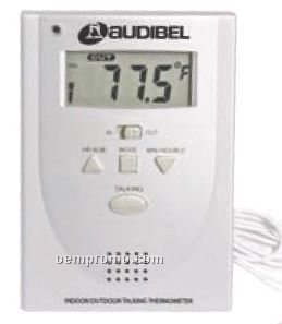 Indoor/ Outdoor Talking Thermometer