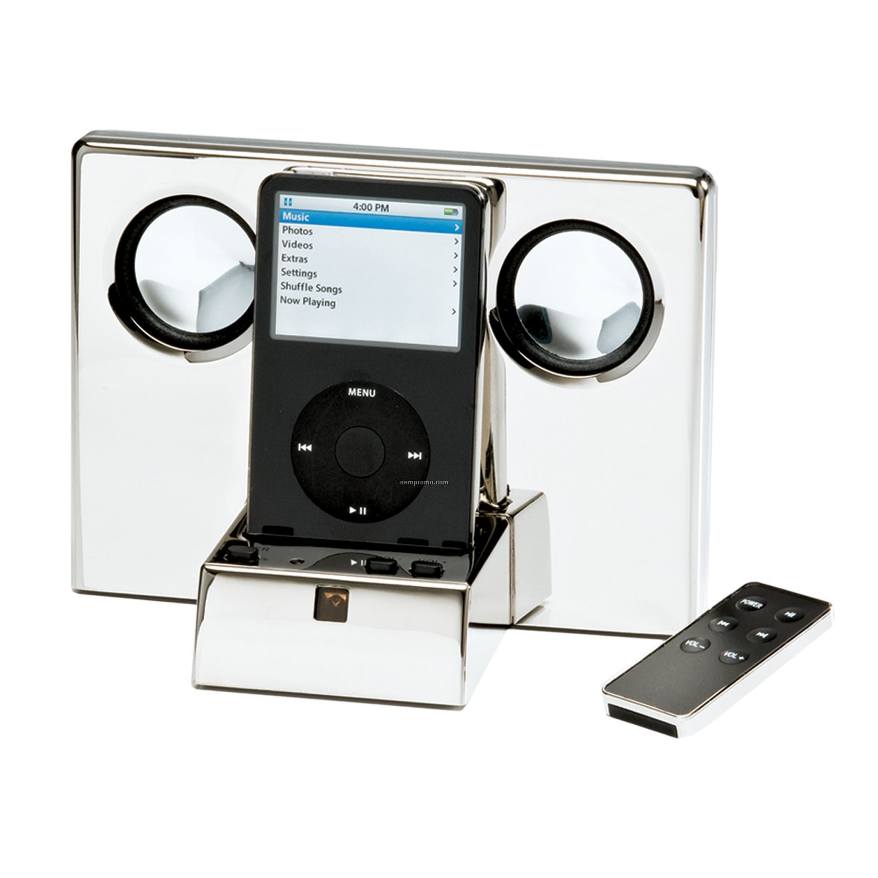 Nickel Plated Ipod Music Player
