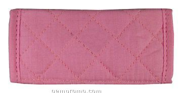 Quilted Luggage Id Gripper - Blank