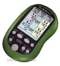 Electronic Handheld Organizer For Golf Handicap Tracking