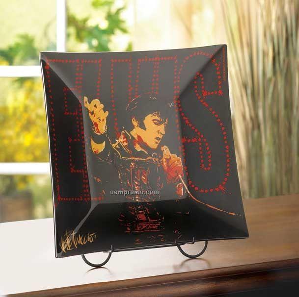 Elvis Decorative Plate