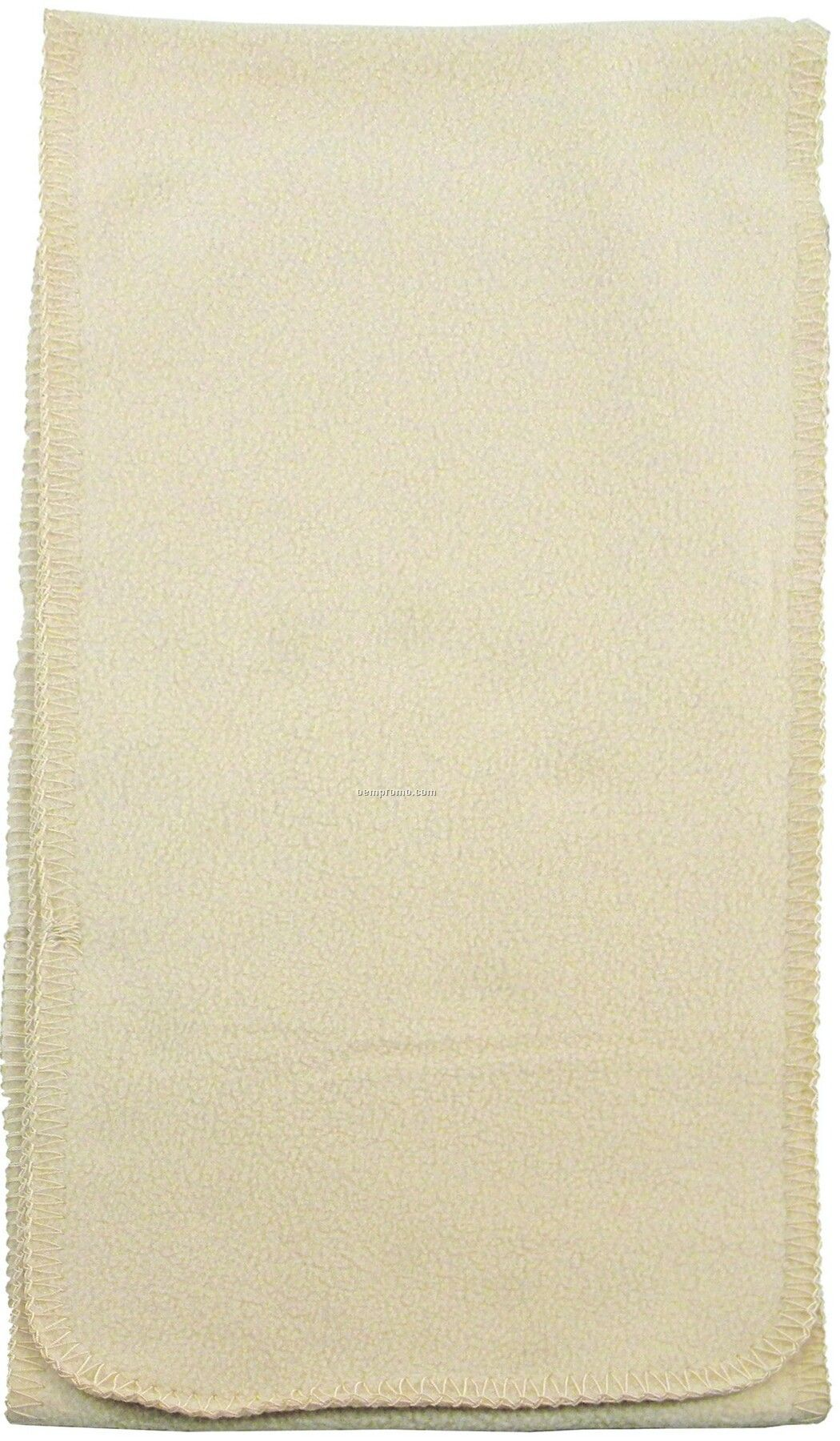 Tone Of Tone Fleece Scarf W/ Whipped Stitch (Domestic 5 Day Delivery)