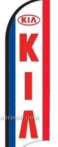 11' Street Talker Feather Flag Complete Kit (Kia)