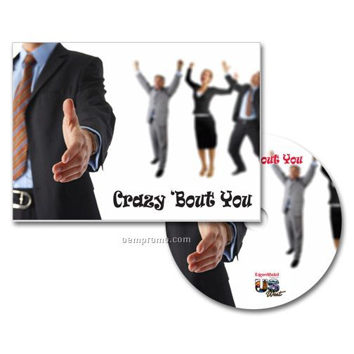Crazy 'bout You Greeting Card With Matching CD