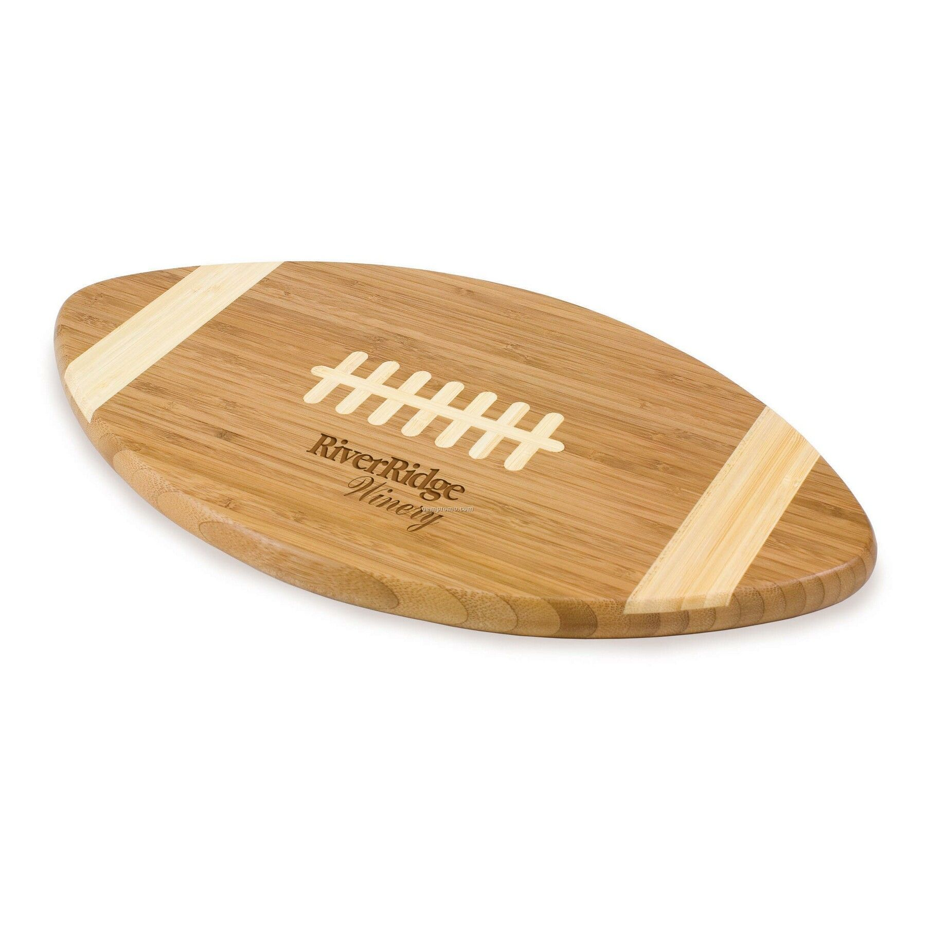 Touchdown Football Shaped Bamboo Cutting Board / Serving Tray
