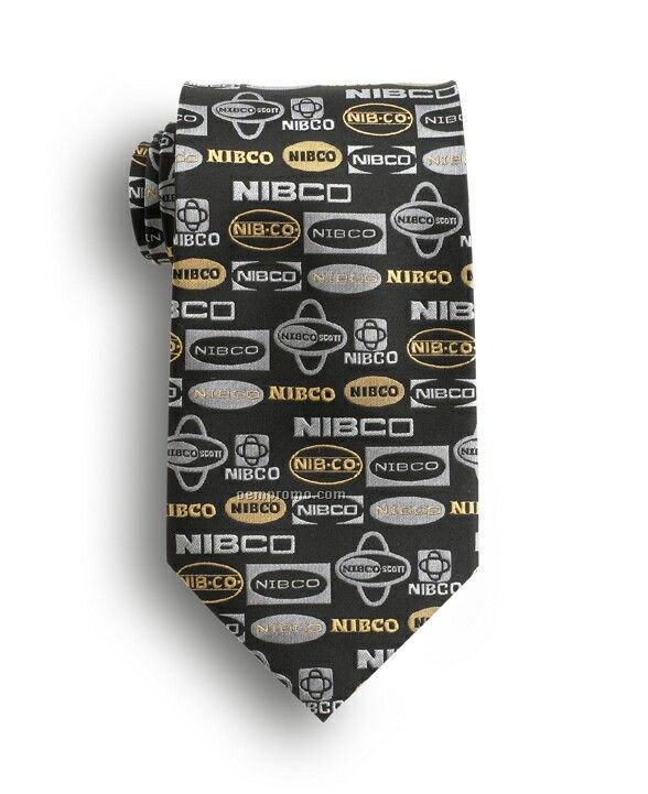 Wolfmark Custom Woven Polyester Tie