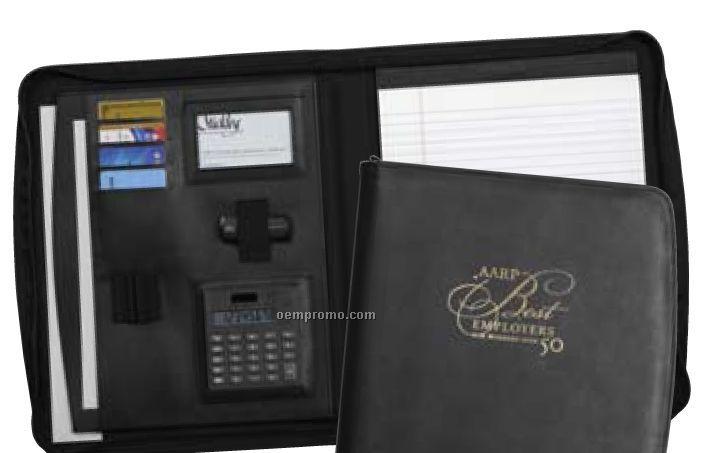 Wexford Zippered Padfolio W/Calculator