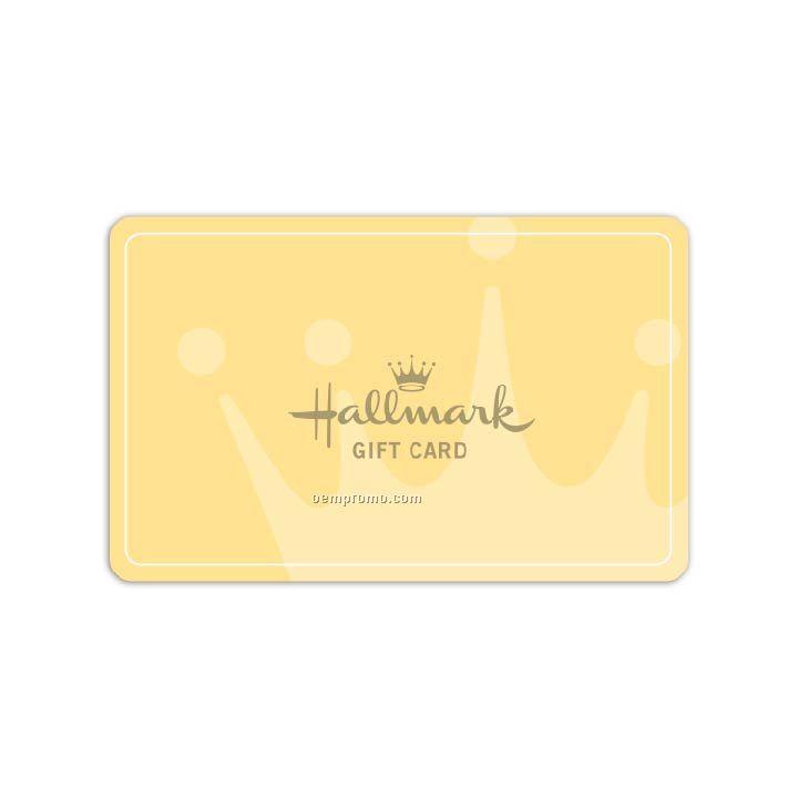 $25 Hallmark Crown Gift Card