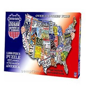 1000-pieces Jigsaw Puzzle