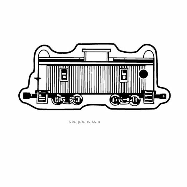 Stock Shape Collection Train Caboose 2 Key Tag