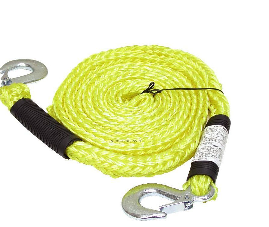 Tow Rope W/Locking Steel Hooks (Blank Only)