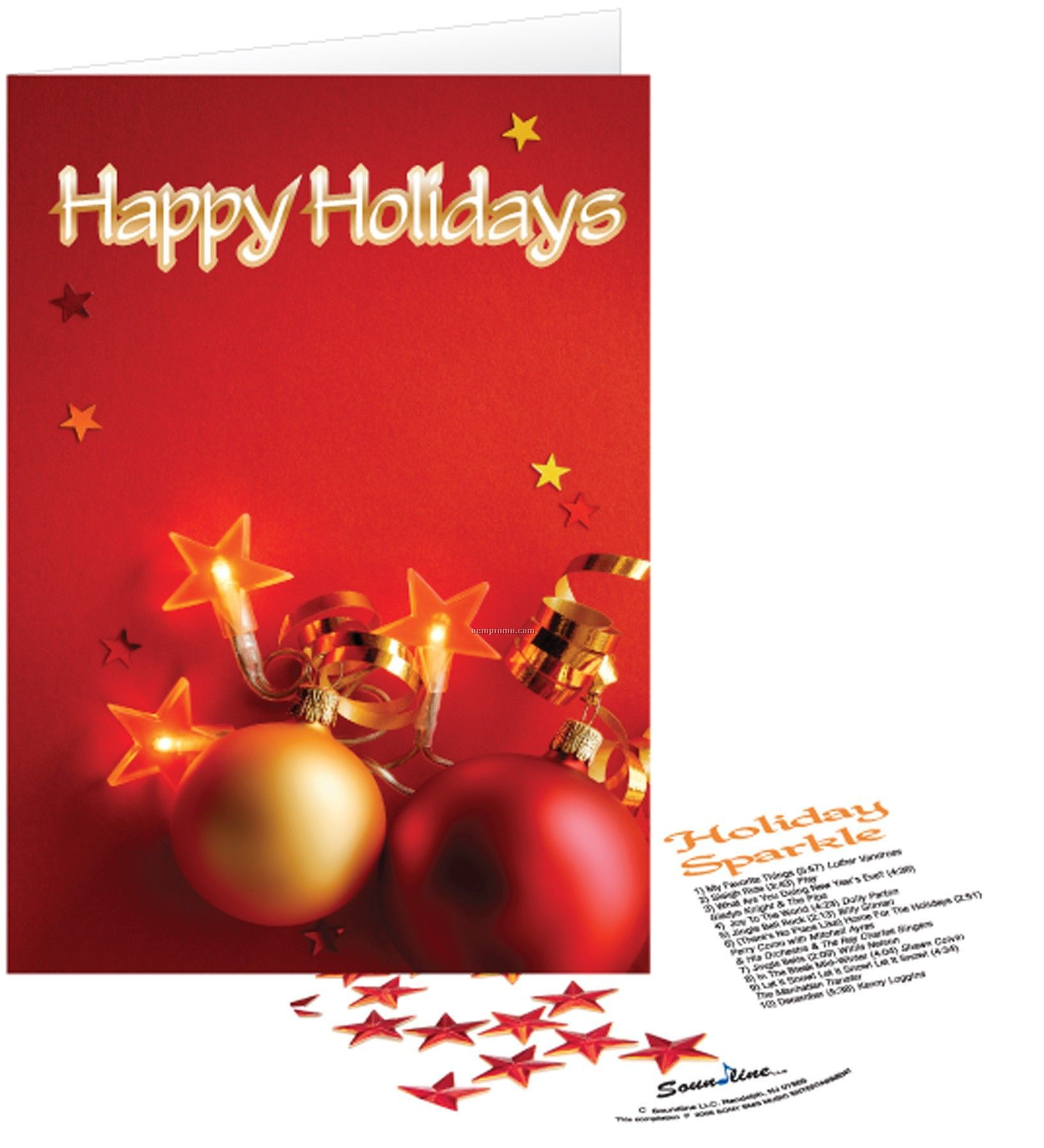 Happy Holidays Greeting Card With Matching Cdchina Wholesale Happy