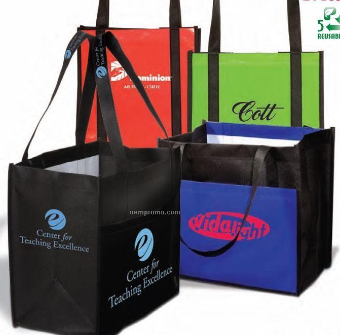 Laminated Enviro Shopper Tote Bag