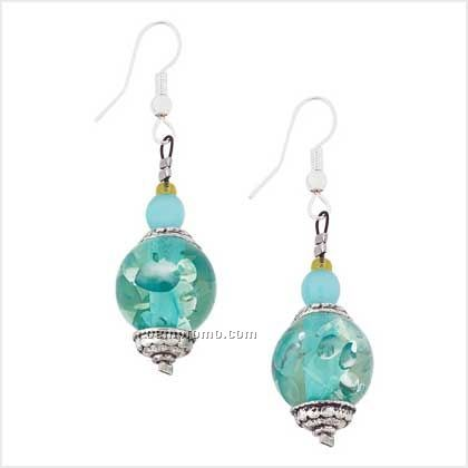 Aztec Ice Earrings