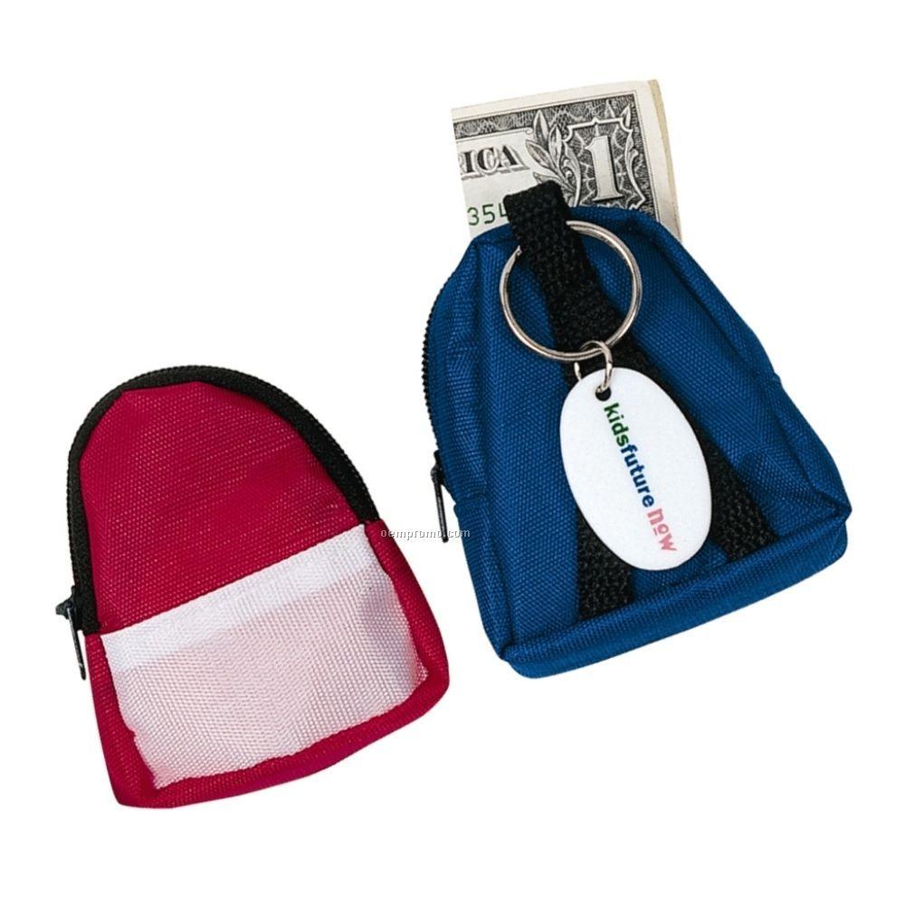 Mini Backpack Coin Holder & Key Chain