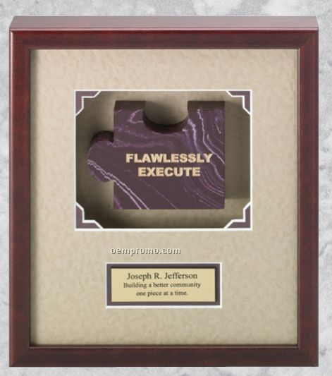 Professional Gallery Marble Award Plaques