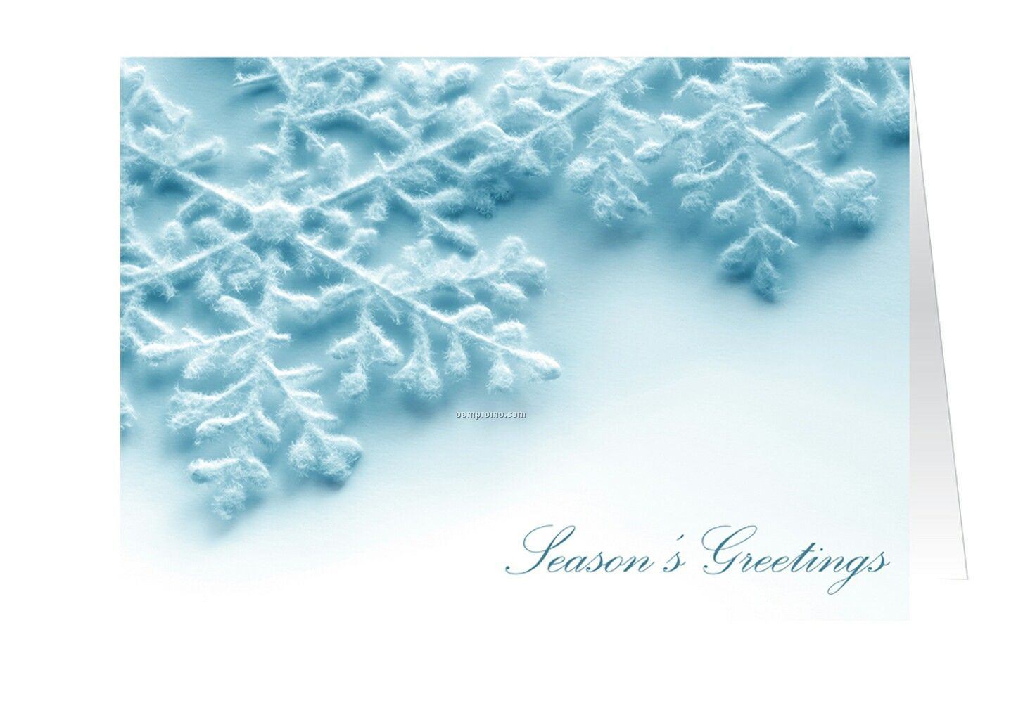 Snowflakes seasons greetings holiday cardchina wholesale snowflakes seasons greetings holiday card m4hsunfo