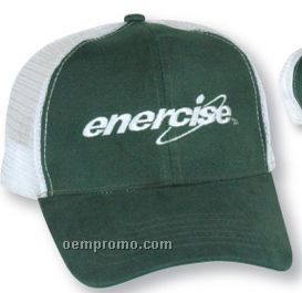 The Empire Brushed Cotton Cap (Embroidery)