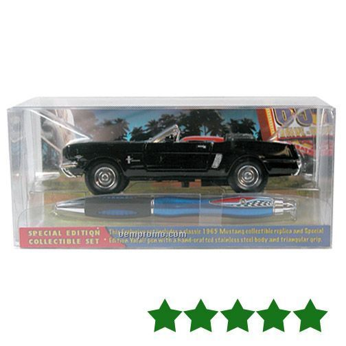 Collectible Car Set W/ Pen (Mustang)