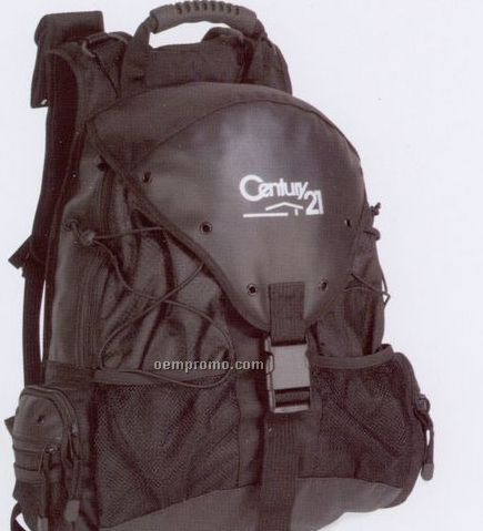 Rough And Tough Polyester Backpack (1 Color)
