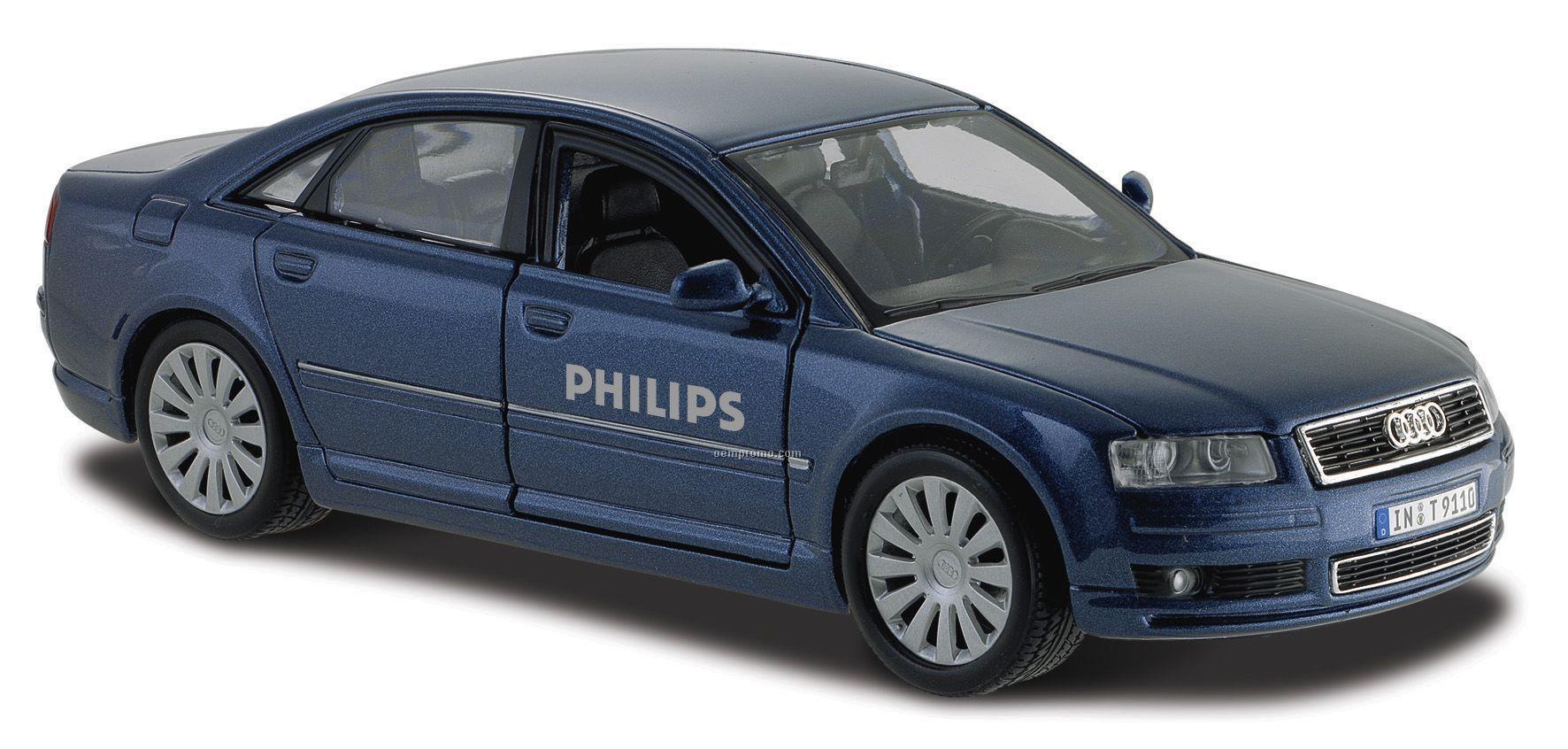"""7""""X2-1/2""""X3"""" Audi A8 Die Cast Replica Car"""
