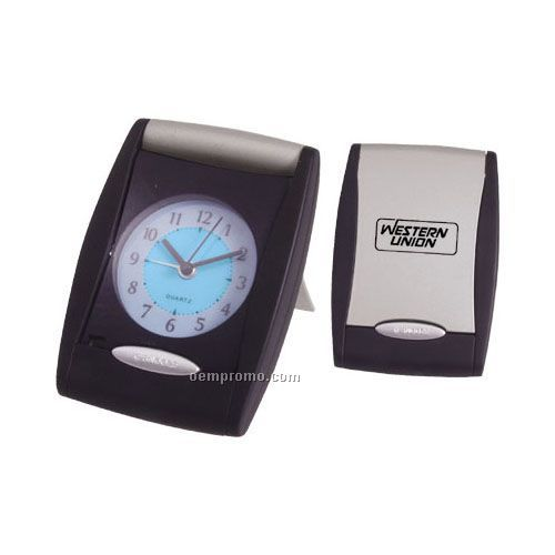 Auto Open Alarm Clock With El Back Light