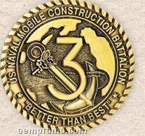 "Die Struck 2d Custom Coin (1 3/4"")"