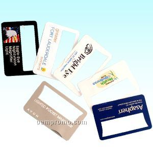 Name Card Magnifier W/LED Light
