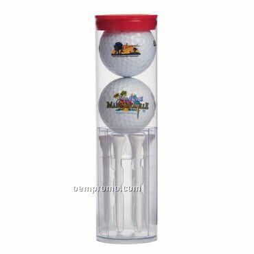 Wilson 2 Golf Ball Tube - Ultra Distance