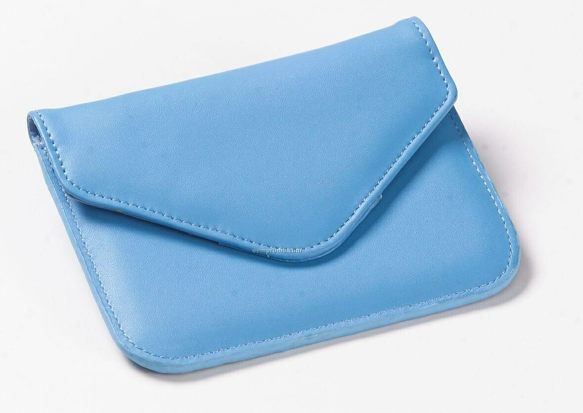 Colored Leather Xl Coin Purse