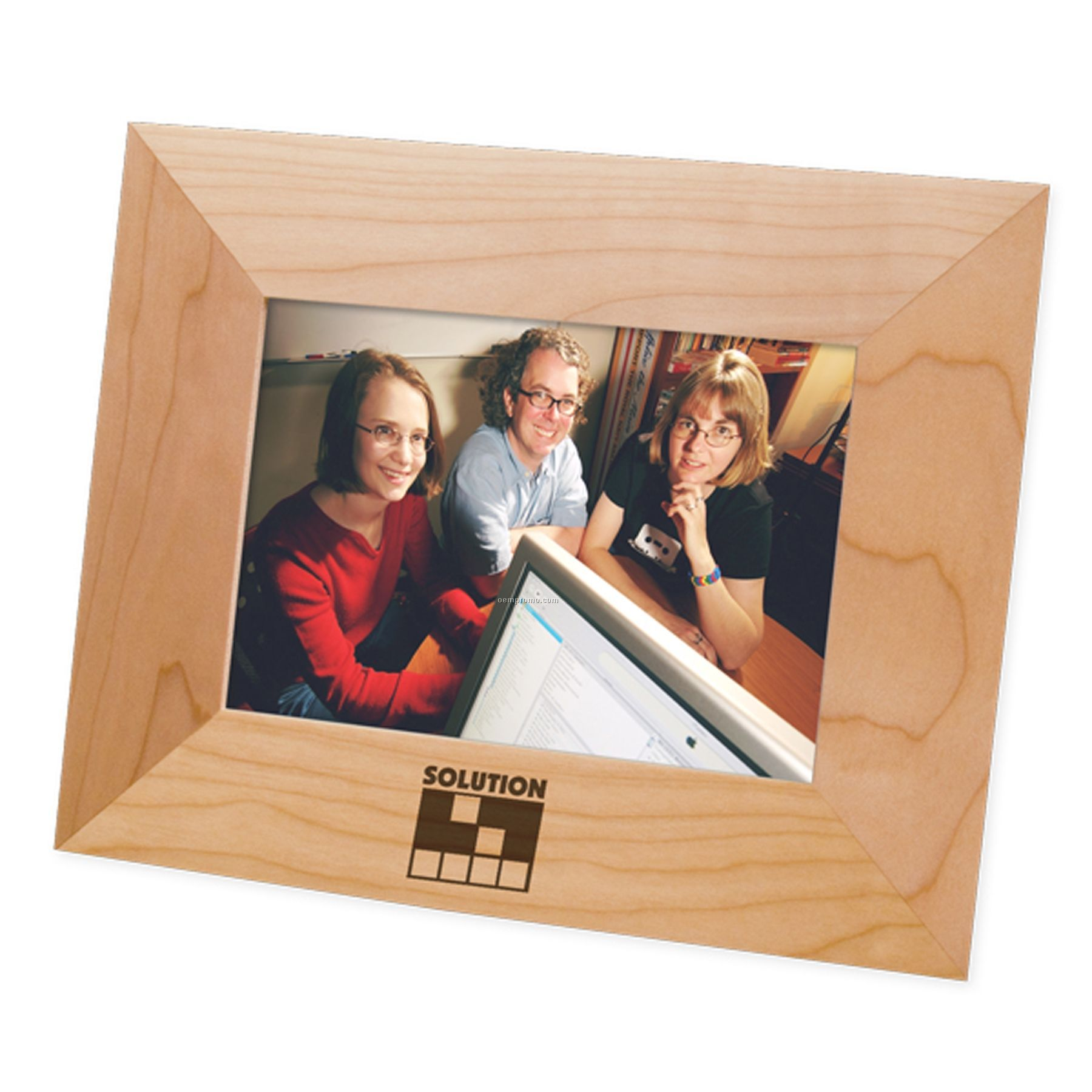 """Maple Wood Picture Frame / Certificate Frame (4""""X6"""" Photo)"""
