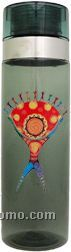27oz. Cylinder Vortex Bottle-four Color Process
