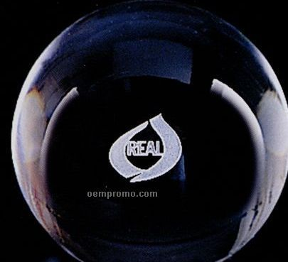 Distinctive Gift Gallery Crystal Gazing Ball Paperweight