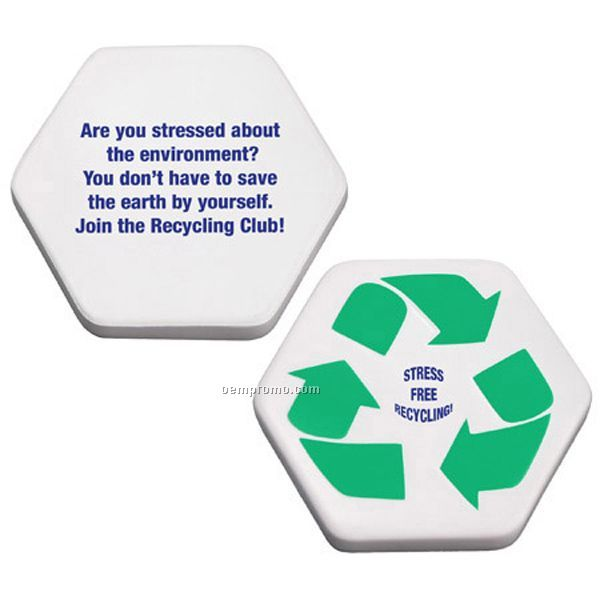 Recycle Symbol Squeeze Toy