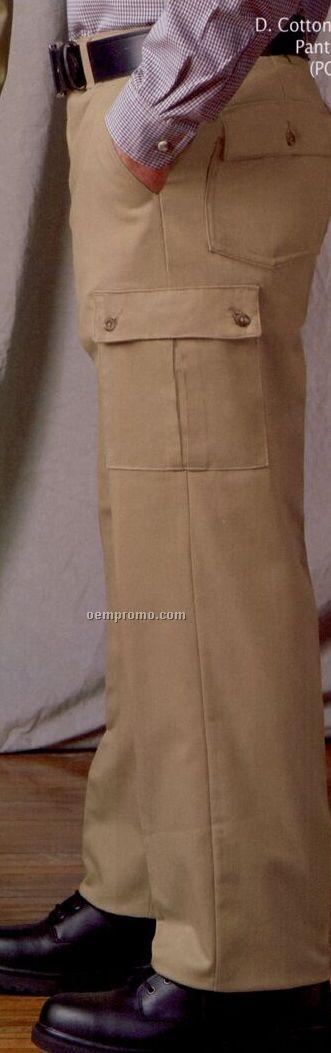 Red kap men 39 s 100 wrinkle resistant cotton cargo pant 30 for Red kap 100 cotton work shirt