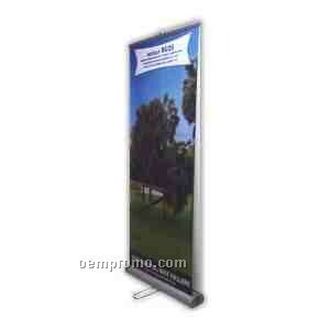 """Roll Up Stand 33""""X79"""" Double Sided"""