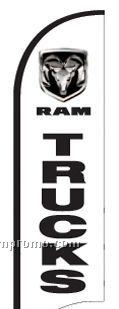 11' Street Talker Feather Flag Complete Kit (Ram Trucks)