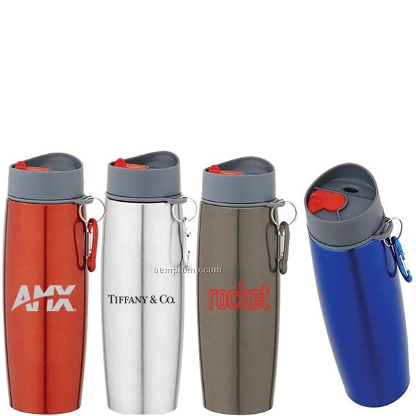 17 Oz. Stainless Steel Sport Water Bottle