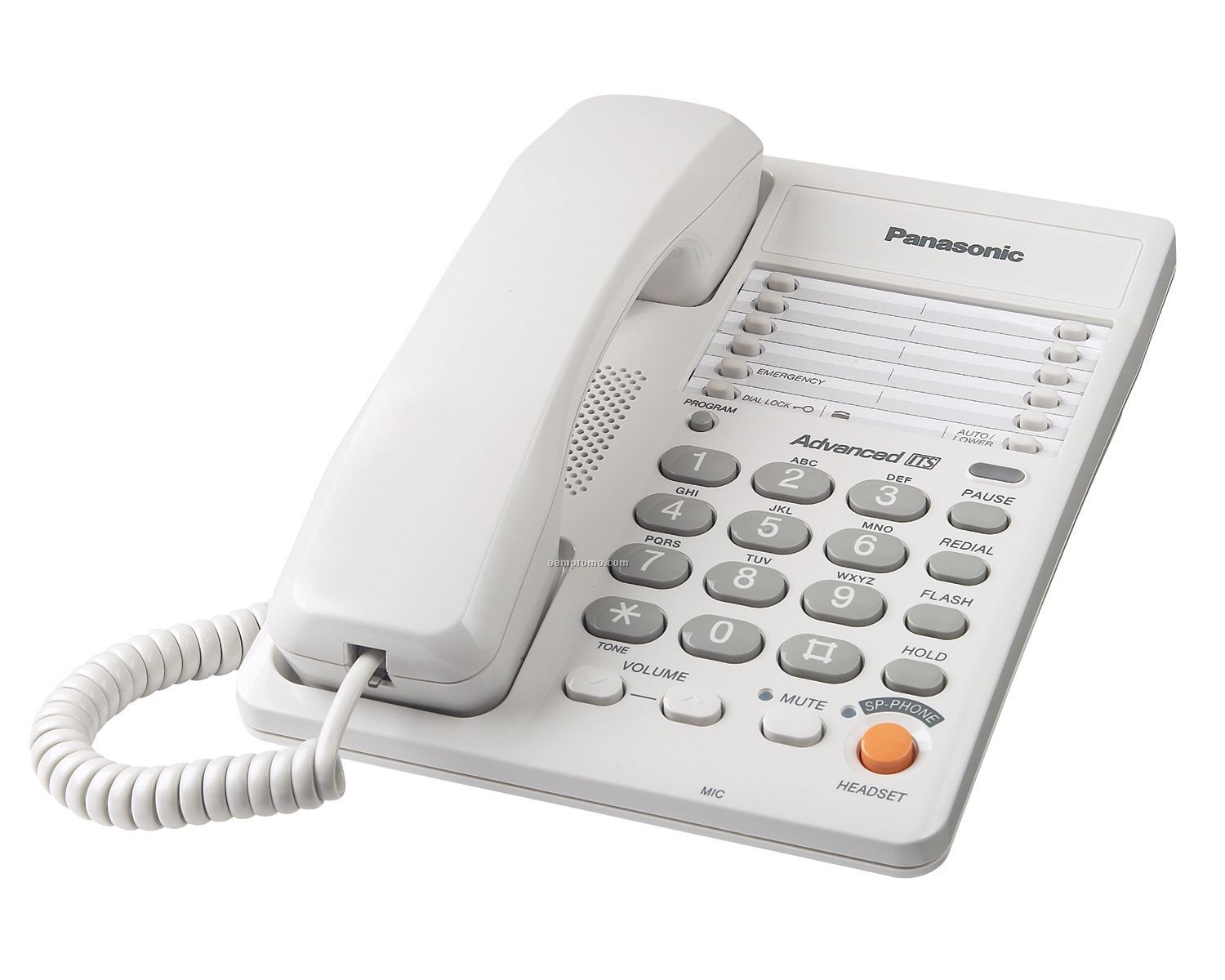 panasonic integrated corded telephone white china wholesale panasonic integrated corded. Black Bedroom Furniture Sets. Home Design Ideas