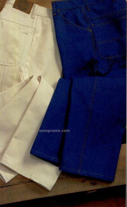 Red Kap Men's Utility Pre-shrunk Cotton Dungaree Pants (29-52)