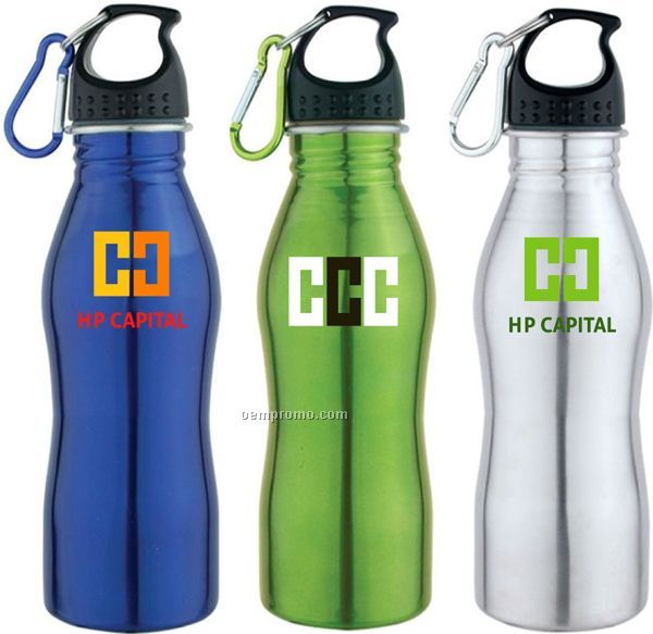 17 Oz. Stainless Steel Sport Water Bottle