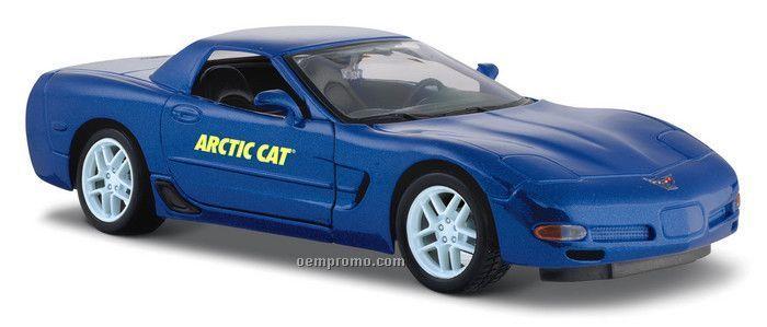 """7""""X2-1/2""""X3"""" Corvette Z06 Die Cast Replica Sports Car"""