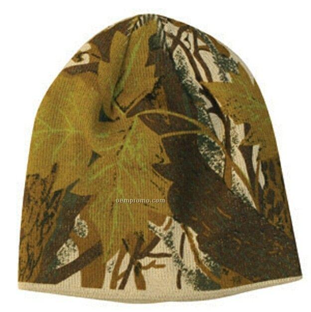 Greentree Camo Beanie Hat