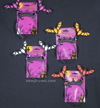Halloween Bat Headband